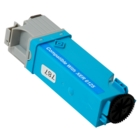 Xerox Phaser 6125 Cyan Toner Cartridge (Compatible)