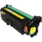 HP Color LaserJet CP3525n Yellow Toner Cartridge (Compatible)