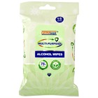 75% Alcohol Multipurpose Wipes - Bag of 15