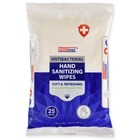 Antibacterial Sanitizing Hand Wipes - Bag of 25
