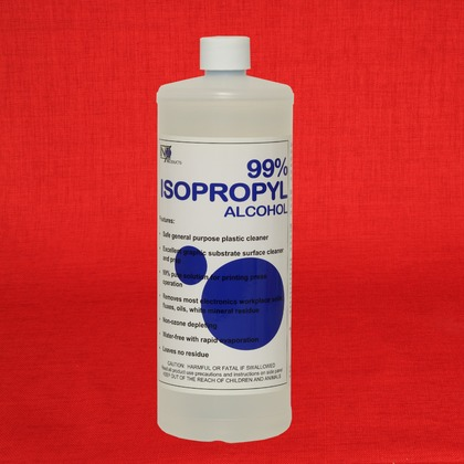 INX Products IPA5132 Isopropyl Alcohol 99 32 oz Bottle Genuine