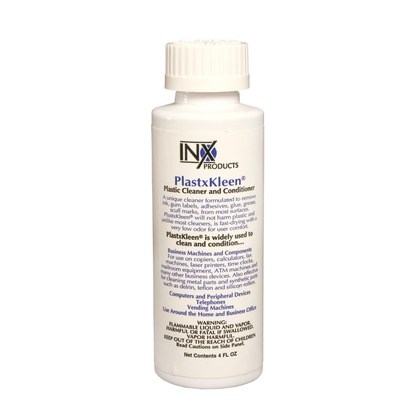 Inx Products Pk2188 Pk Plastxkleen Plastic Cleaner 8 Oz Bottle Genuine S9100