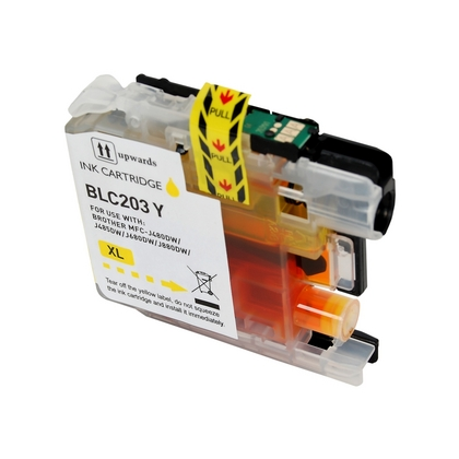 High Yield (XL Series) Yellow Ink Cartridge for the Brother MFC-J480DW (large photo)