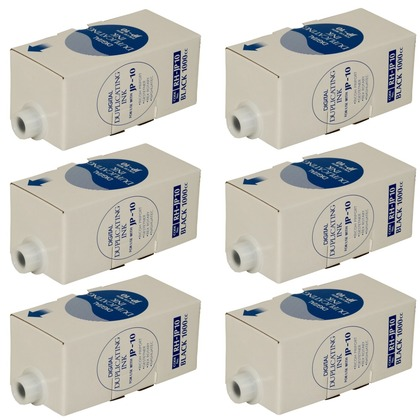 Black Ink Cartridge, Box of 6 for the Gestetner 5455 (large photo)