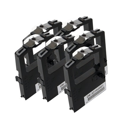 Ribbon Cartridge Compatible Microline - Black - Package of 6 for the NCR 6417-0101 (large photo)