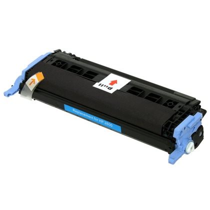 cyan toner cartridge compatible with hp color laserjet 2600n v8370. Black Bedroom Furniture Sets. Home Design Ideas