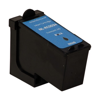 High Capacity Black Ink Cartridge for the Lexmark X5260 (large photo)