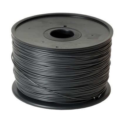 1.75mm ABS Black 3D Printer Filament (large photo)