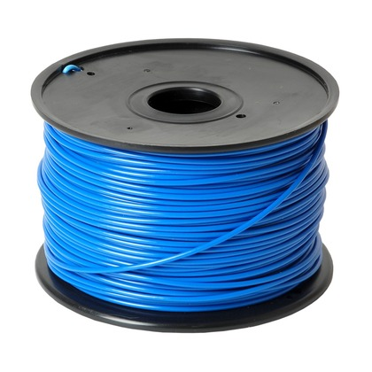 3.00mm ABS Blue 3D Printer Filament (large photo)