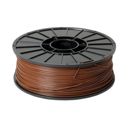 1.75mm ABS Brown 3D Printer Filament (large photo)