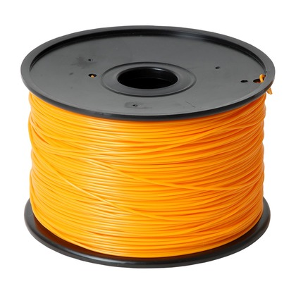 1.75mm ABS Orange 3D Printer Filament (large photo)