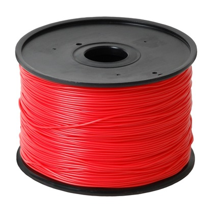 1.75mm ABS Red 3D Printer Filament (large photo)