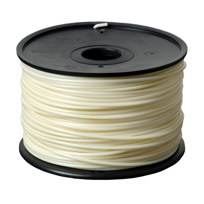 3.00mm ABS Natural 3D Printer Filament (large photo)