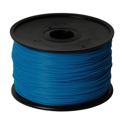 1.75mm ABS Cyan 3D Printer Filament (large photo)