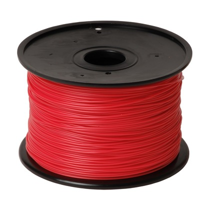 1.75mm PLA Red 3D Printer Filament (large photo)