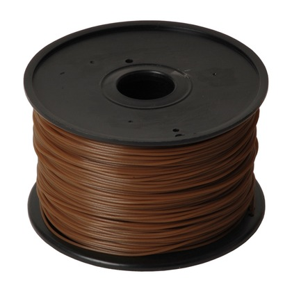 1.75mm PLA Brown 3D Printer Filament (large photo)