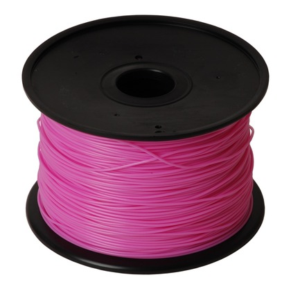 1.75mm PLA Pink 3D Printer Filament (large photo)