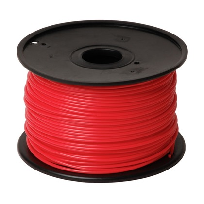 3.00mm PLA Red 3D Printer Filament (large photo)