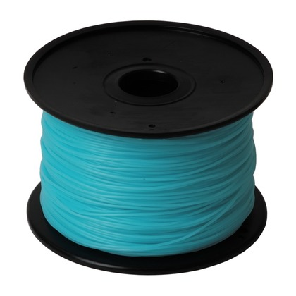 1.75mm PLA Cyan 3D Printer Filament (large photo)