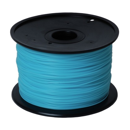 1.75mm PLA Sky Blue 3D Printer Filament (large photo)