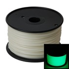 Airwolf 3D AW3D XL 1.75mm PLA Glow-in-the-Dark Green 3D Printer Filament (Compatible)