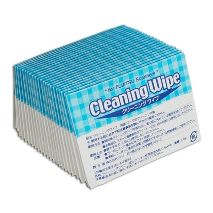Fujitsu PA03950-0419 Cleaning Wipes, Pack of 24 (large photo)