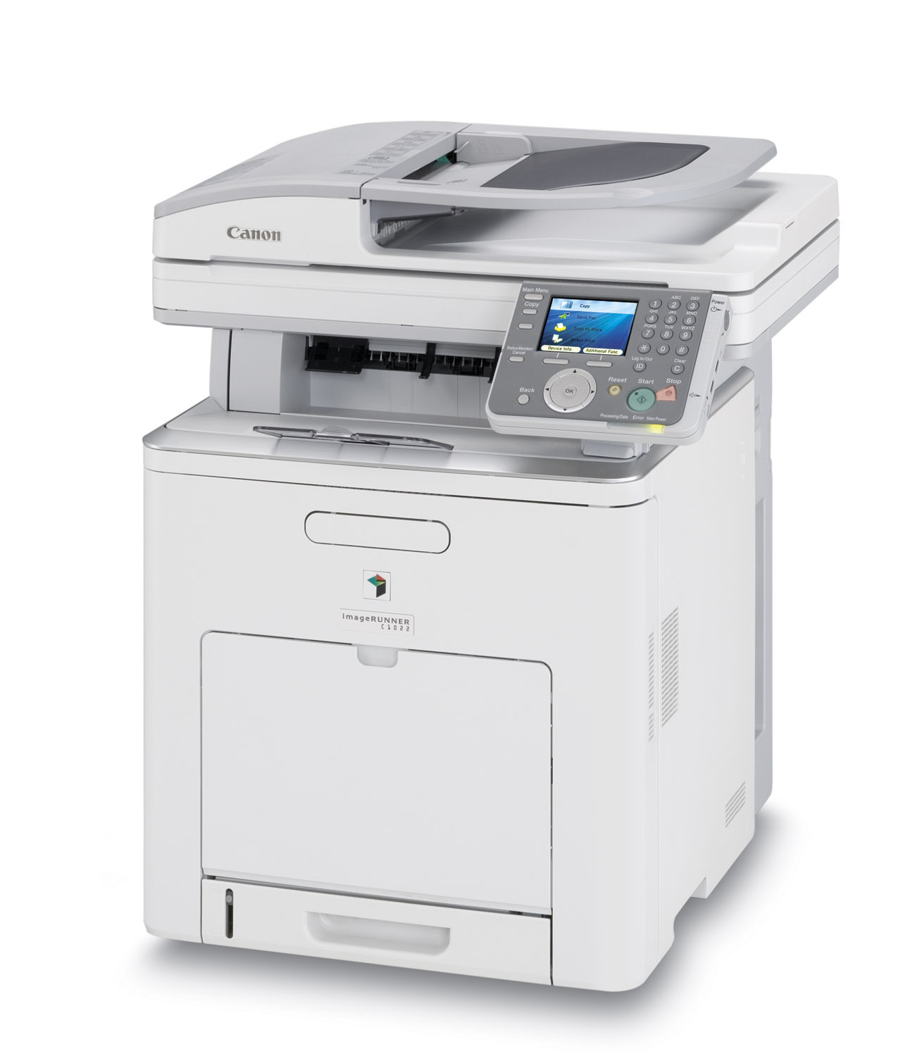 how to add printer manually canon imagerunner