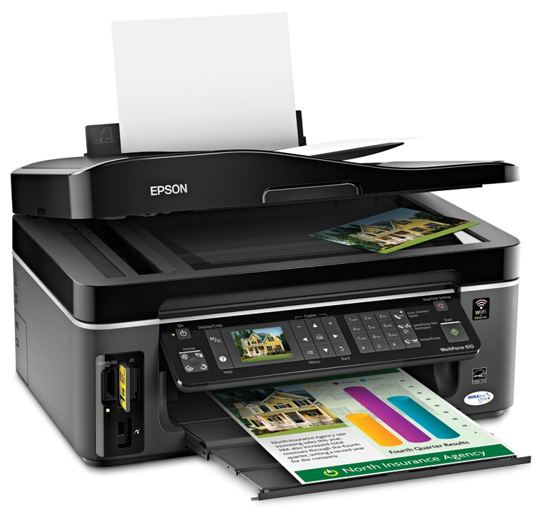 Epson Workforce 610 Ink