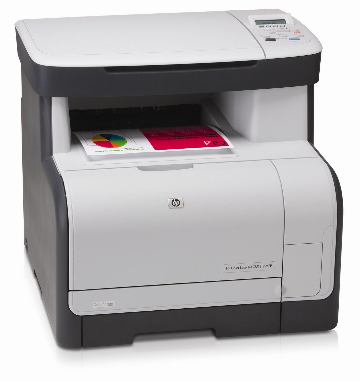HP Color LaserJet CM1312MFP