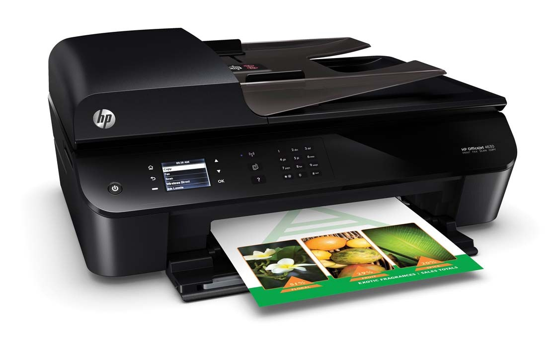 Hp Officejet 4630 E All In One Ink