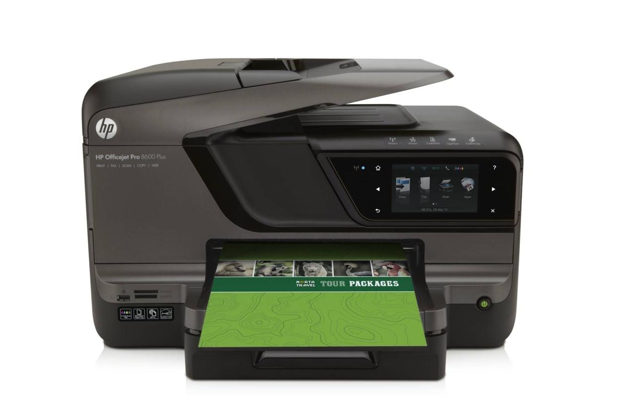 Officejet Pro 8600 custom paper sizes
